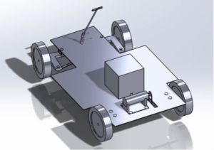 Model of the mechanical vehicle